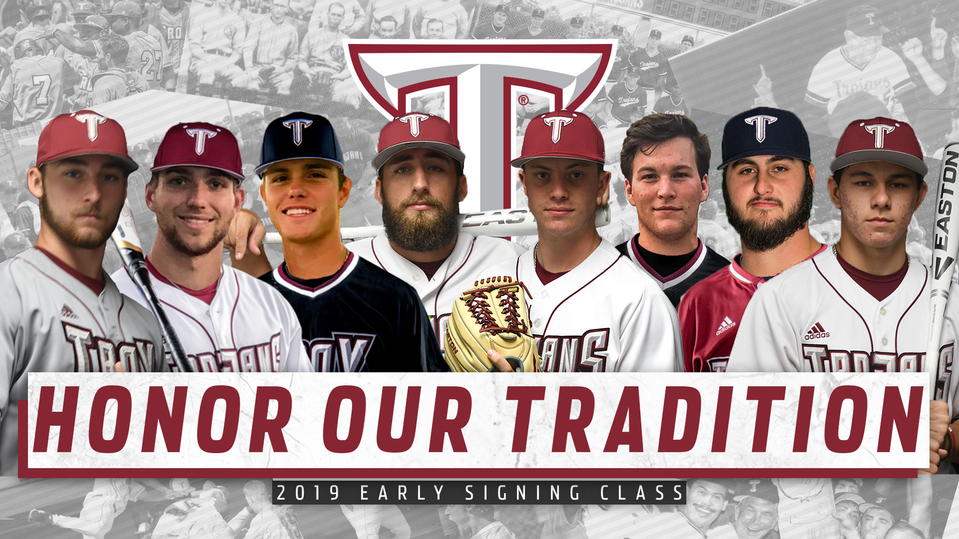 Troy Baseball Releases Early Signing Class - Troy University