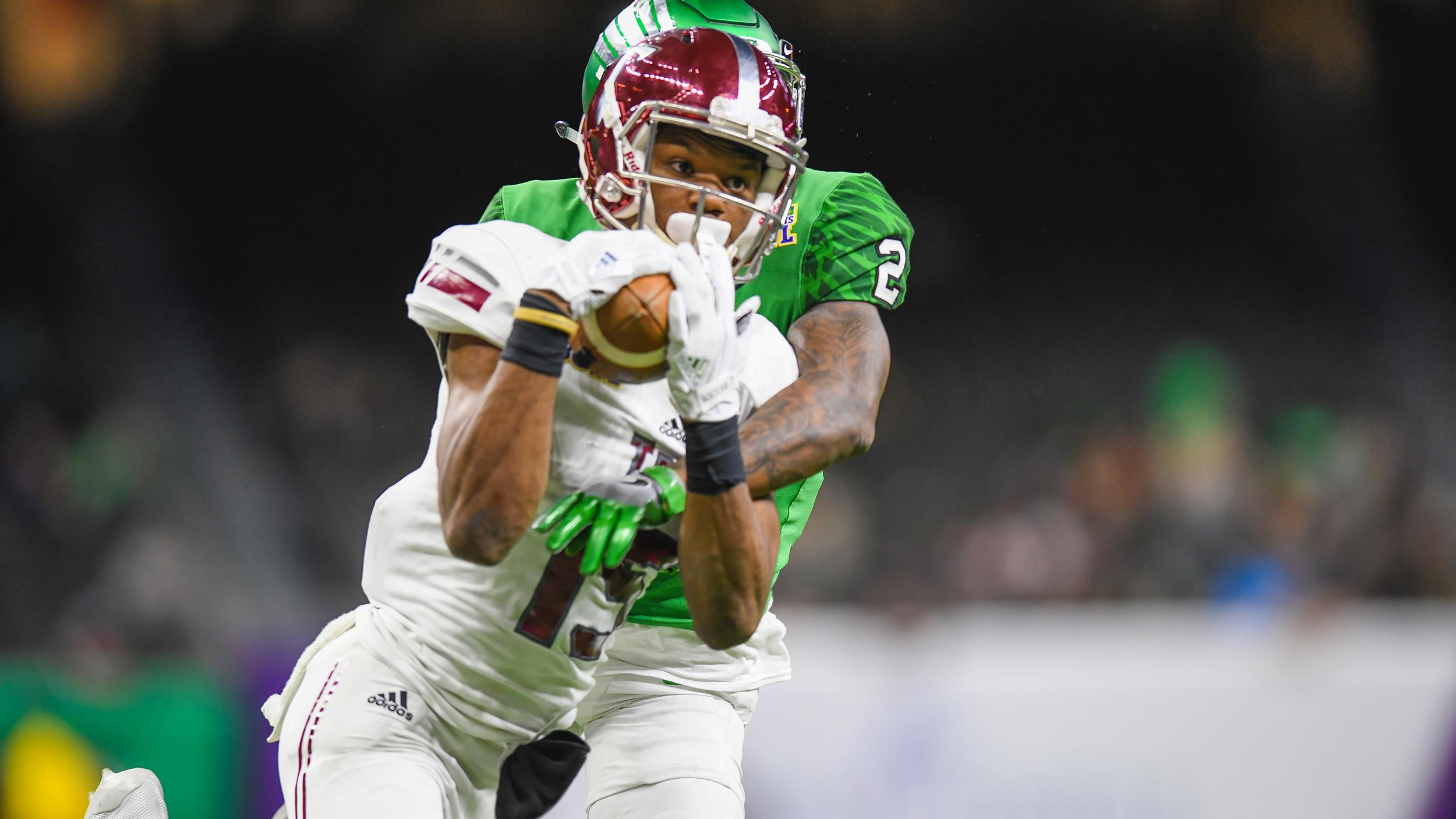 new product 9d281 b5112 Damion Willis Named to the Wuerffel Trophy Watch List - Troy ...