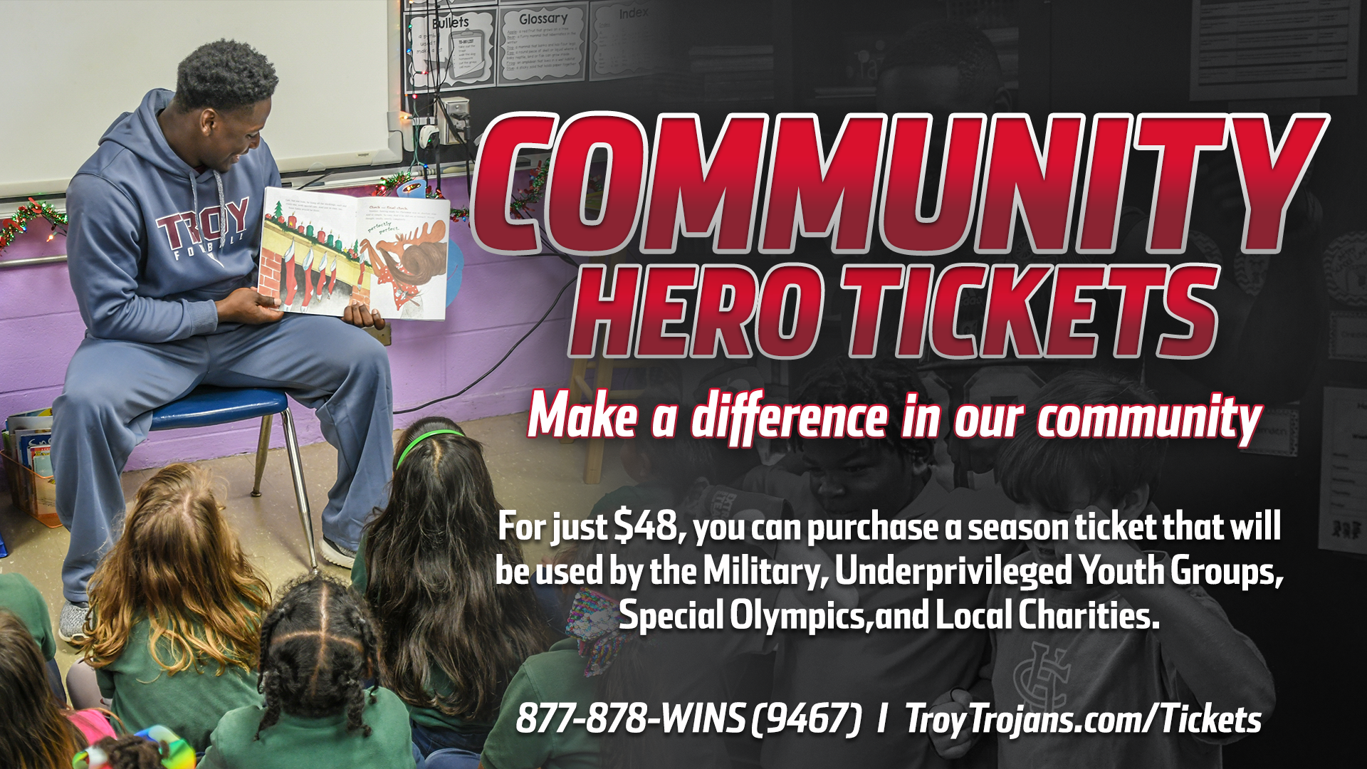community hero tickets making a difference in our community the
