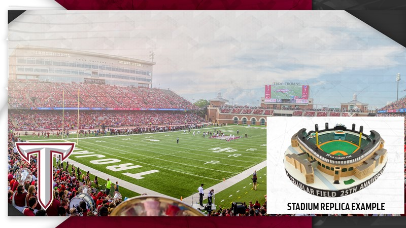 wholesale dealer 105a6 fc19c The Vet Replica Among Troy Football Season Ticket Incentives ...
